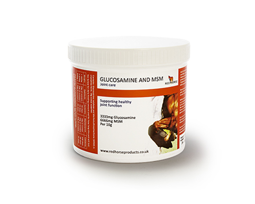 Glucosamine and MSM - Red Horse